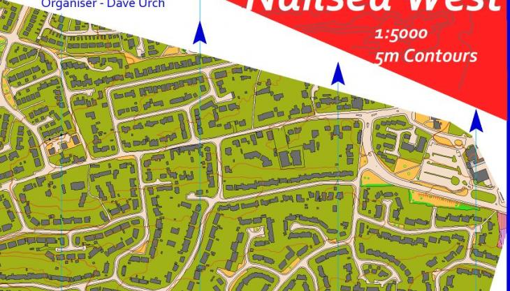 Nailsea West map snippet